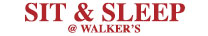 Sit & Sleep @ Walker's Furniture Logo